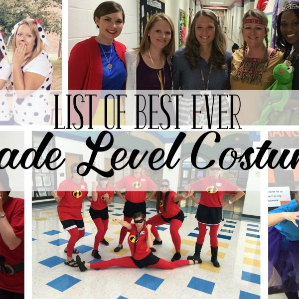 The Best Ever Grade Level Costumes (for Teachers!)