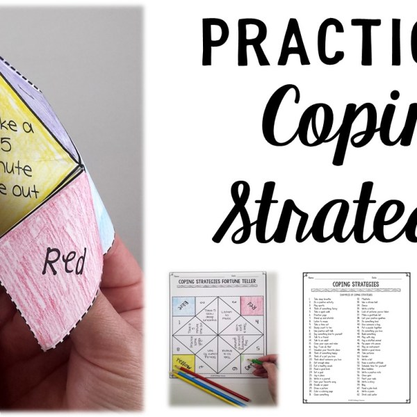 How to Use a Fortune Teller to Practice Coping Strategies With Your Students