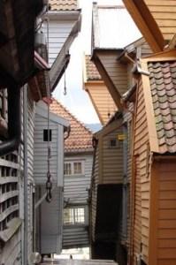 Bryggen, in between.