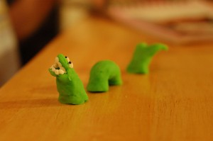 Play Dough Sea Monster. Creative Commons photo by Tim Pierce.
