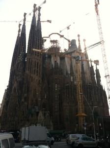 La Sagrada Familia Basilica