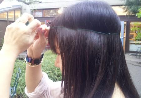 DIY Flower Head Headband