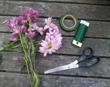 Supplies for DIY Flower Headbands
