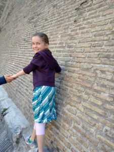 Traveling with Kids in Rome
