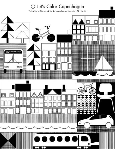 Activity page of Copenhagen