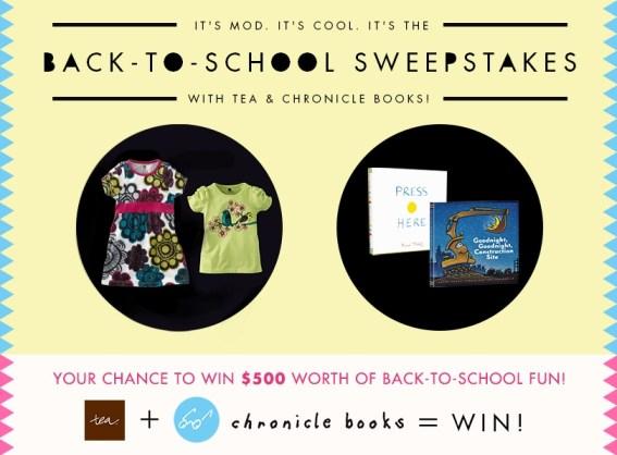 Tea + Chronicle $500 Sweepstakes