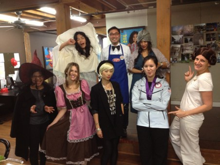 Tea Staff at Halloween 2012