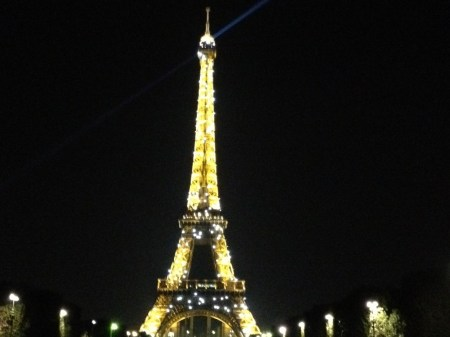 Twinkling Eiffel Tower