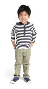 Boy in Vilakazi inspired henley