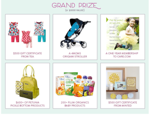 Tea Collection Baby Sweepstakes