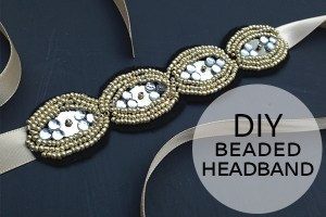 DIY Beaded Headband