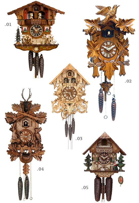 Cuckoo Clock Roundup