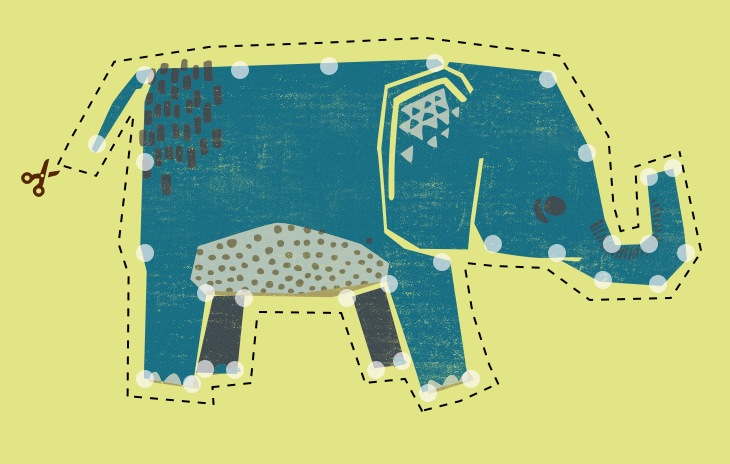 DIY Embroider Elephant