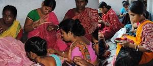 women's Kantha Co-Op India