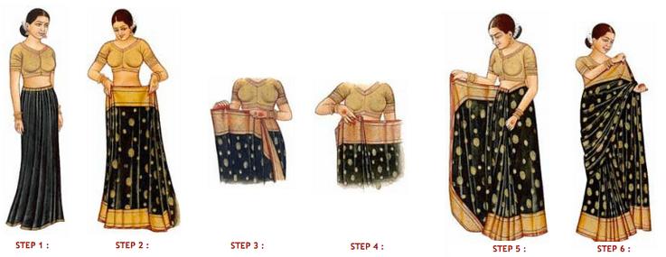Sari wrap