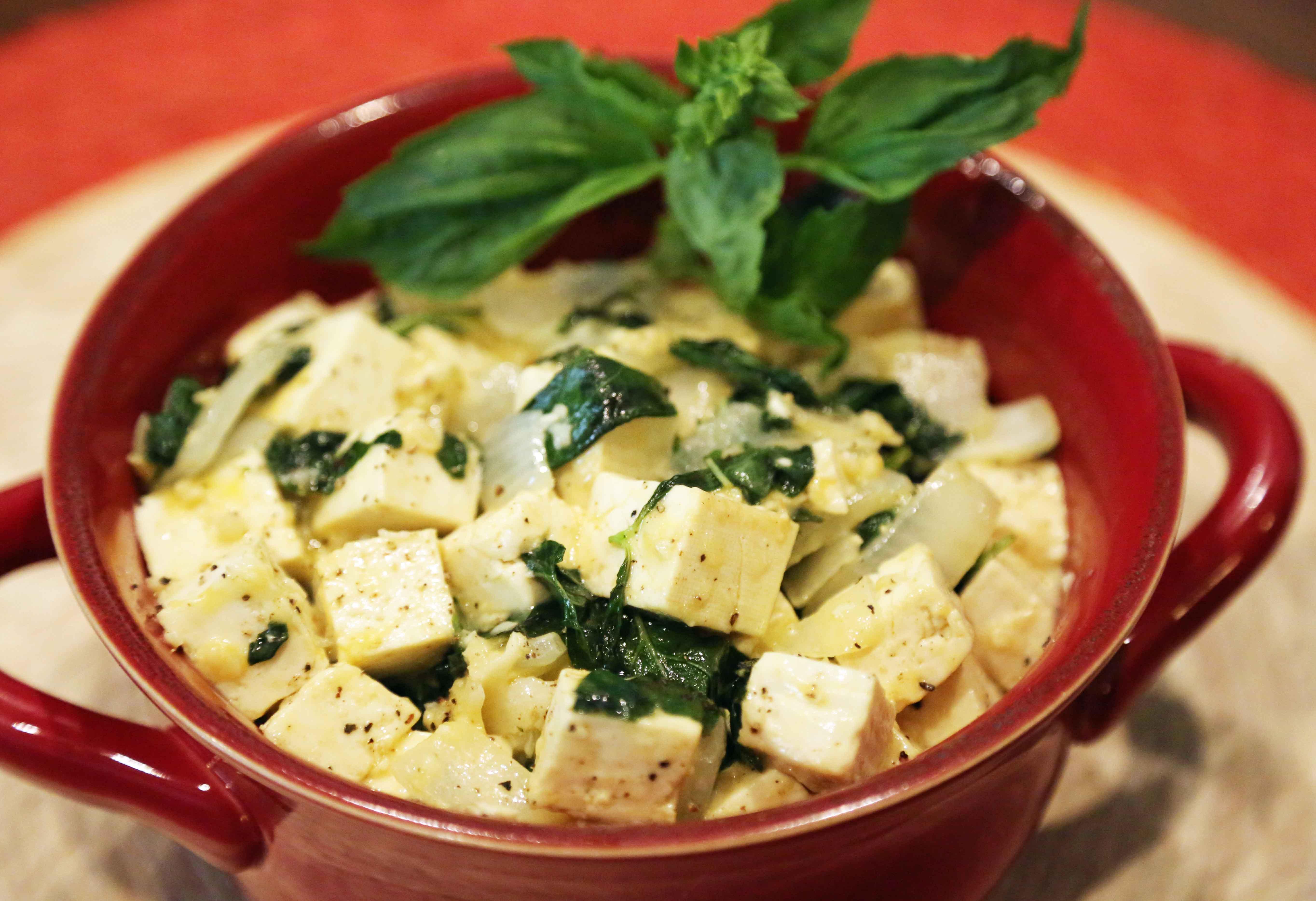 Tofu Basil