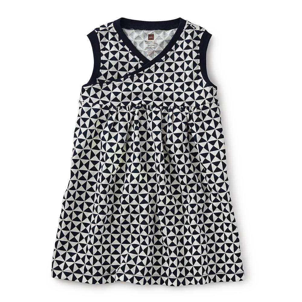 Che Figata Wrap Neck Dress