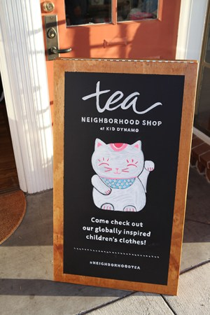 Tea Neighborhood Shop at Kid Dynamo