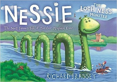 Nessie the Loch Ness Monster Scotland Inspired Books for Kids