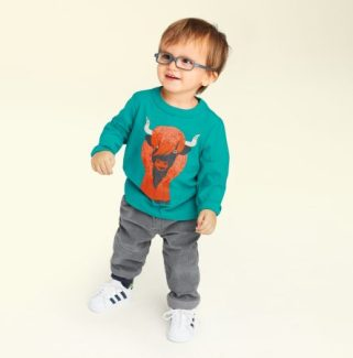 Baby Boy Heeland Coo Graphic Tee