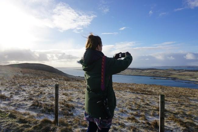 Tea in Shetland Islands