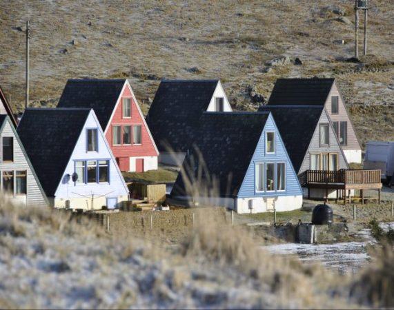 Shetland Islands A-Frame Houses