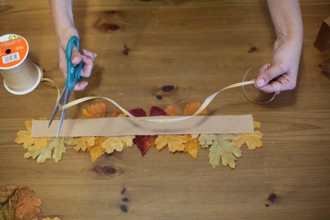 DIY Fall Leaf Crowns