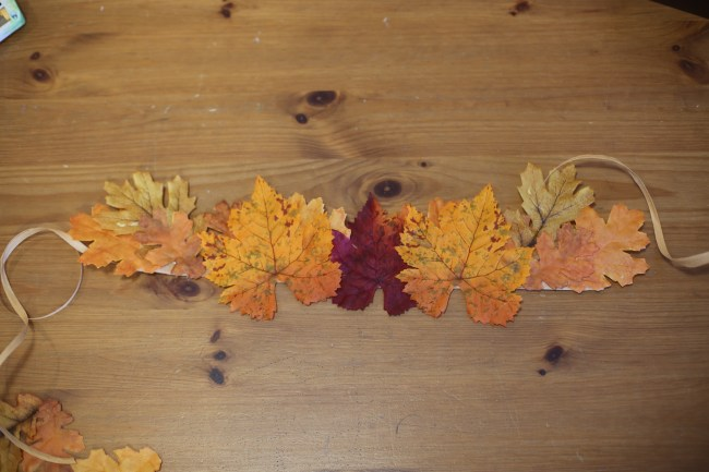 DIY Fall Leaf Crowns