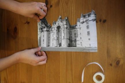 DIY Illuminated Scottish Castles