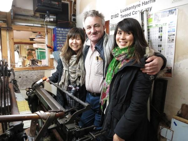 Meet Our Makers Harris Tweed John McKay