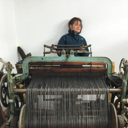 Meet Our Makers Harris Tweed Catherine Campbell