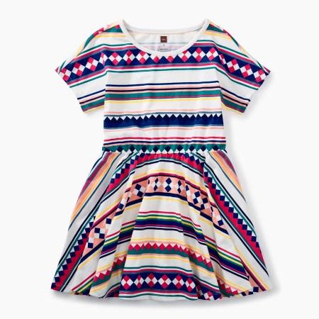 Jessica Osceola skirted dress