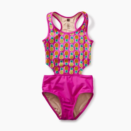 Pineapple Cut-Out One-Piece