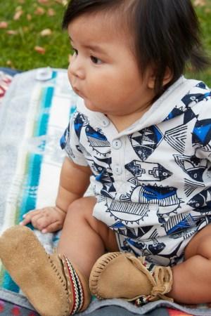 Isleta Pueblo Baby