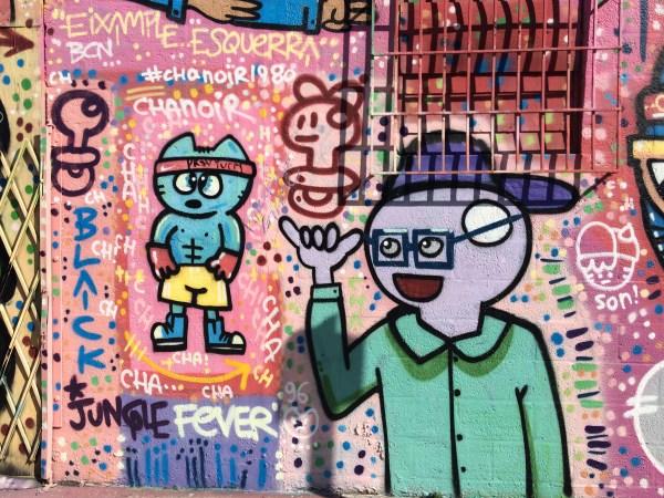 Miami Murals Chanoir y El Xupet Negre