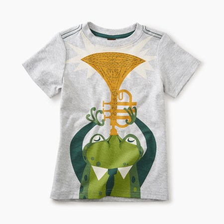 Boys Jazz Frog Graphic