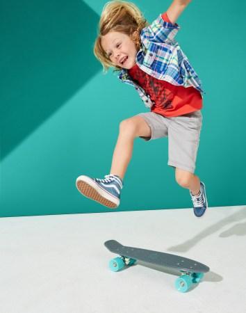 Boys Skateboard Graphic Tee