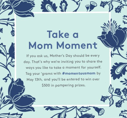#momentousmom Mother's Day Giveaway