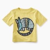 Armadillo Graphic Baby Tee