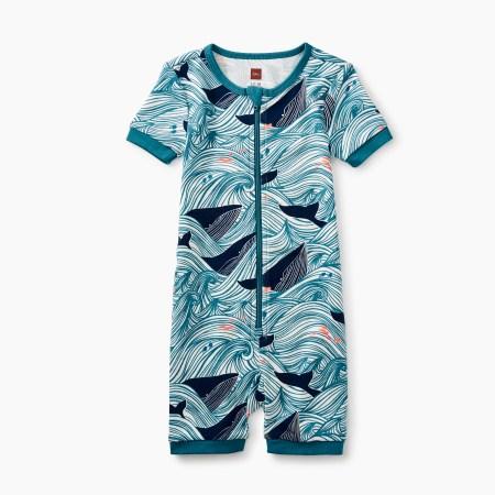 Baby Boy Short Sleeve Baby Pajamas