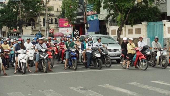 A bustling street