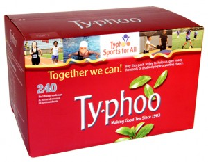 Typhoo Tea in 240 Tea Bag Box