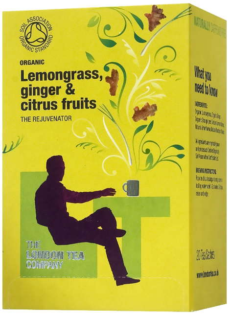 Lemongrass, Ginger & Citrus Fruits