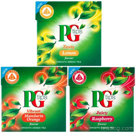 pg tips flav greens