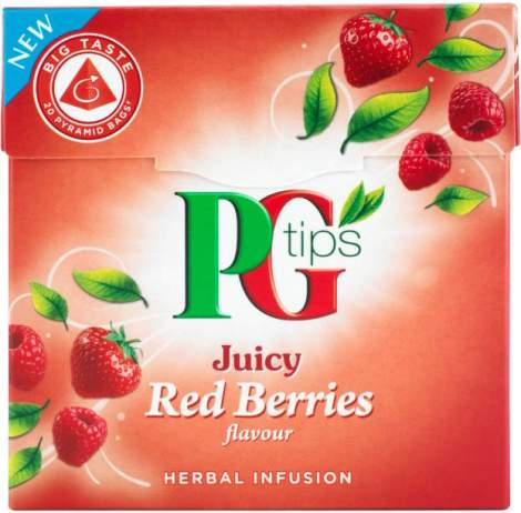 PG Tips Jucy Red Berries Tea