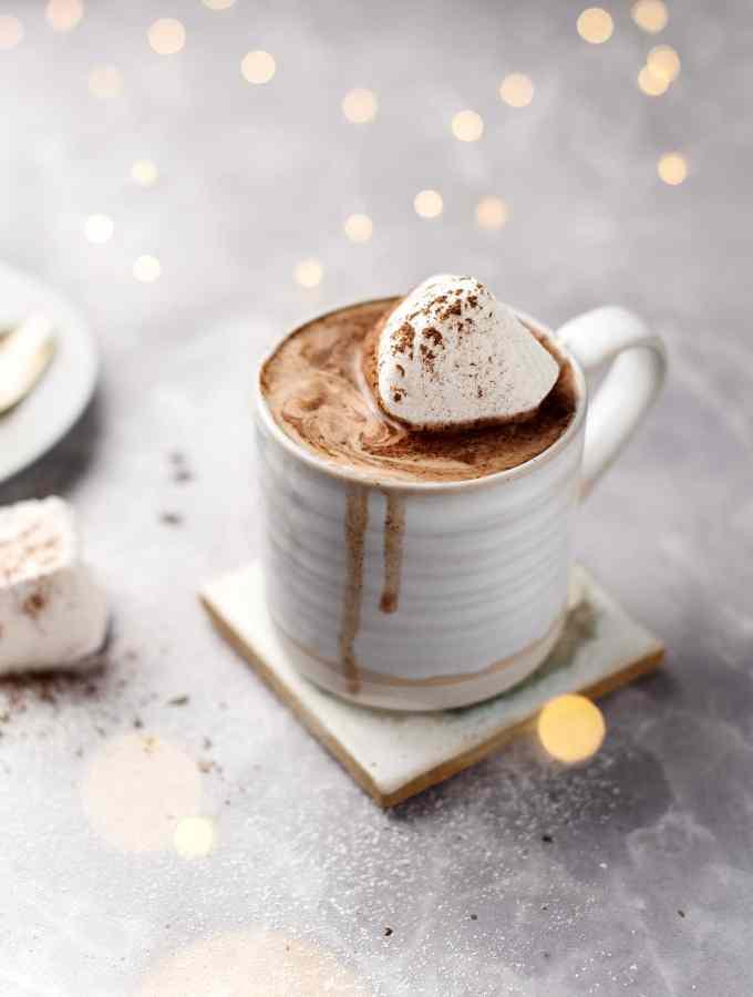 Earl Grey Hot Chocolate | Teak & Thyme