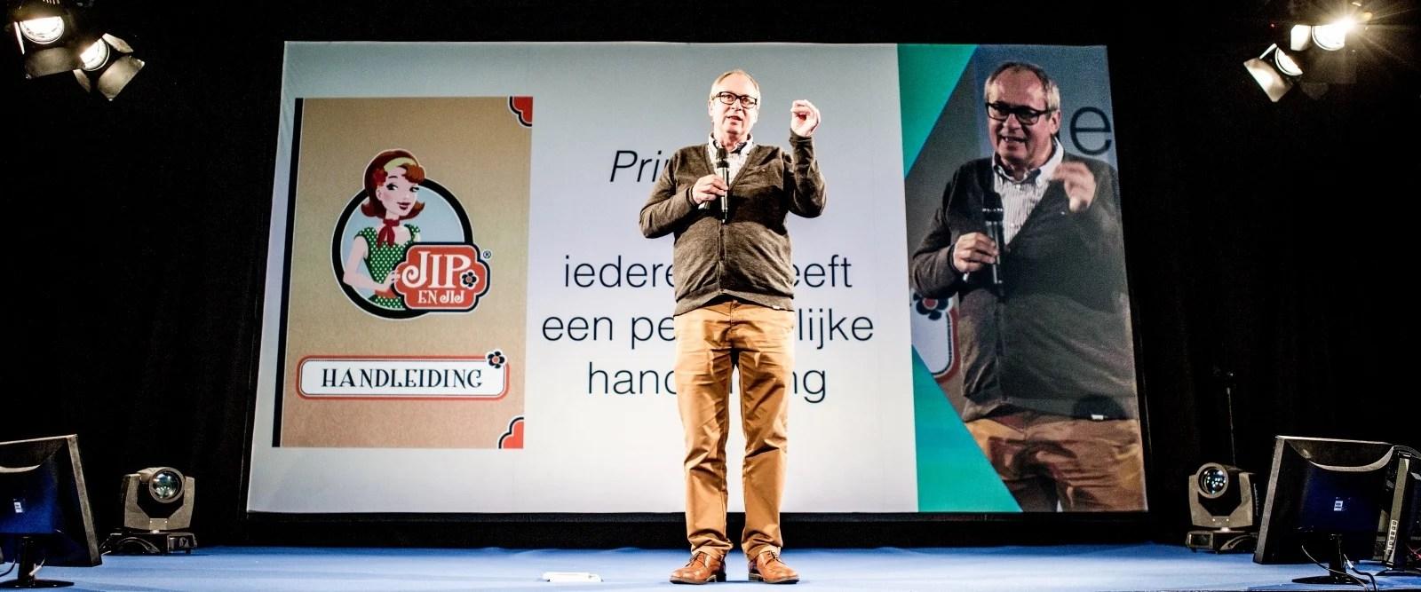 Luk Dewulf legt op Work Smarter uit wat de definitie is van talent