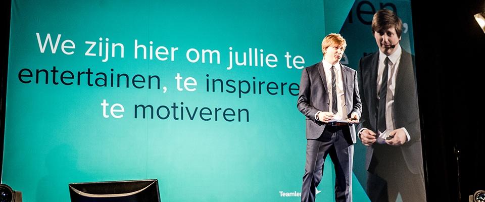 CEO Jeroen De Wit opent Work Smarter