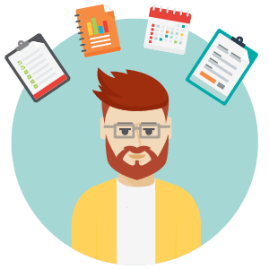 Team lead in a project team