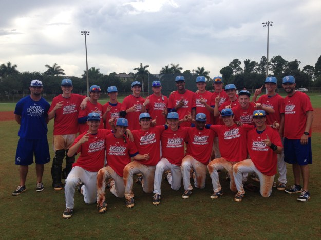 2014 Under Armour Firecracker Classic 16 Division Champions, Ninth Inning Royals 16
